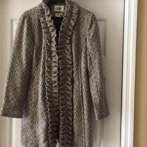 LAL Live a little wool blend coat. New, M